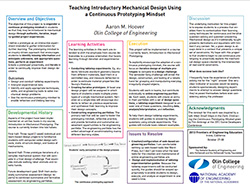 Teaching Introductory Mechanical Design Using a Continuous Prototyping Mindset