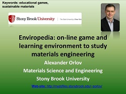 Enviropedia: on-line game and learning environment to study  materials engineering