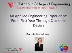 An Applied Engineering Experience: From First Year Through Capstone Design