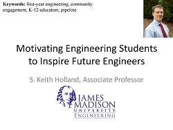 Motivating First-Year Engineering Students to Inspire Future Engineers