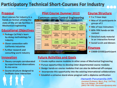 Participatory Technical Short-Courses For Industry