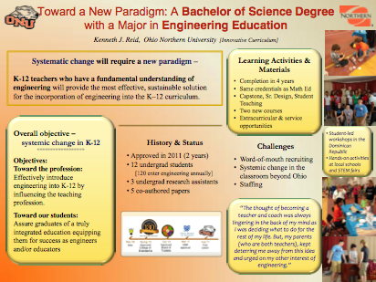 Toward a New Paradigm: A Bachelor of Science Degree with a Major in Engineering Education