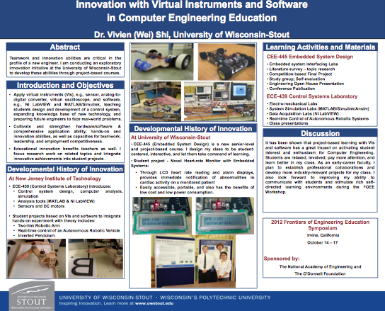 Innovation with Virtual Instruments and Software in Computer Engineering Education