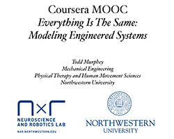 Coursera MOOC Everything Is The Same: Modeling Engineered Systems