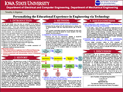 Personalizing the Educational Experience in Engineering via Technology