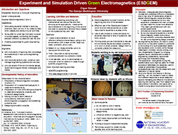 Experiment and Simulation Driven Green Electromagnetics (ESDGEM)