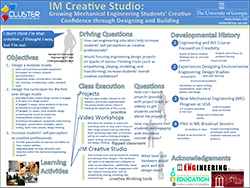 IM Creative Studio: Growing Mechanical Engineering Students' Creative Confidence through Designing and Building