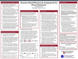 Storyline-Based Homework Assignments for Power Electronics