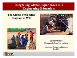 Integrating Global Experiences into Engineering Education - DiBiasio