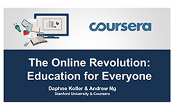The Online Revolution: Education for Everyone - Ng