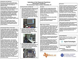 Laboratory in the Classroom Experience